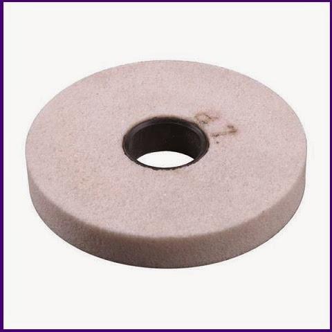 Точильный диск из белого электрокорунда.
