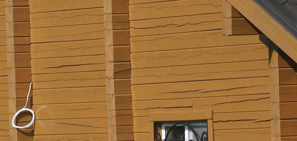 Трещины в стенах из-за неравномерной усадки