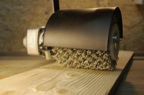 Удаляем мягкие волокна