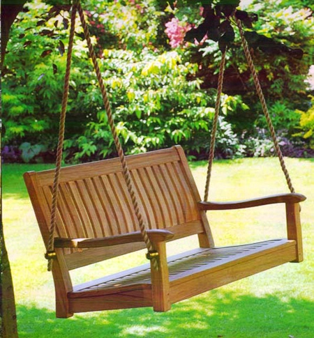 В глубине сада вы сможете уединиться и отлично отдохнуть.