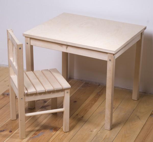 Детский стол и стулья своими руками 9