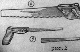 Вариант ножовок по дереву