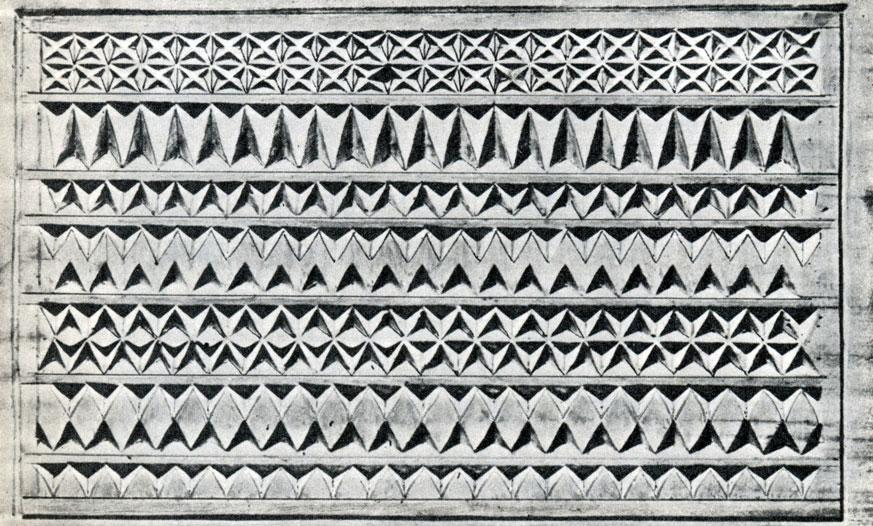 Варианты резьбы на основе треугольников