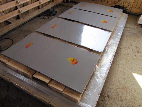 Вес элементов небольшой, поэтому их удобно перевозить в случае необходимости и использовать прямо на объекте