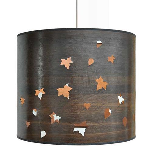 Включится свет и оживут на стенах листья