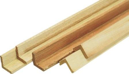 Внешний деревянный уголок для декора зданий и помещений