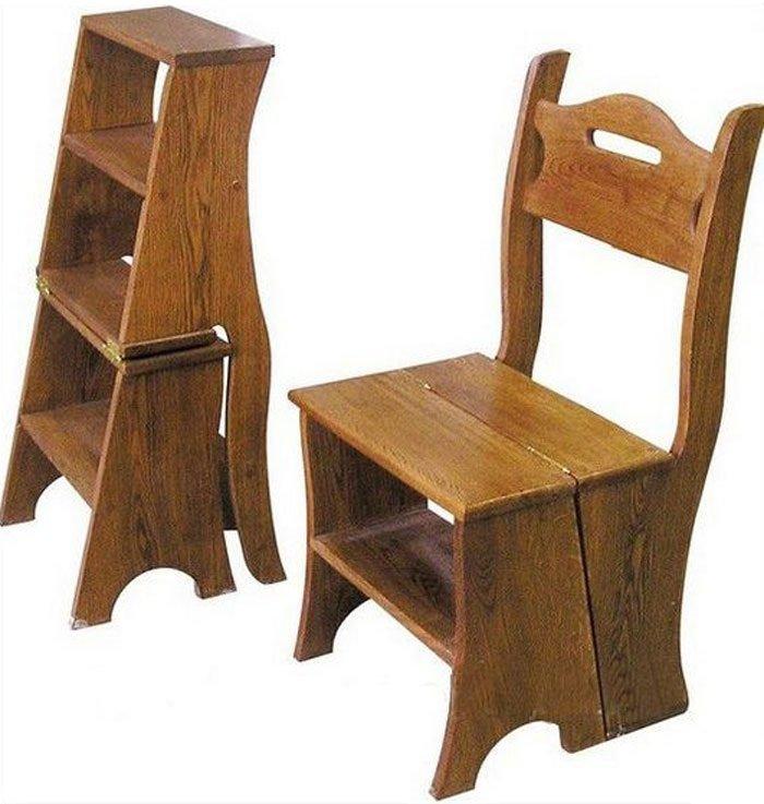 Внешний вид стремянки-стула