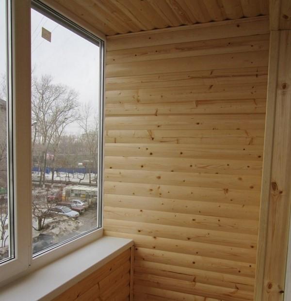 Внутренняя обшивка блок-хаусом также возможна