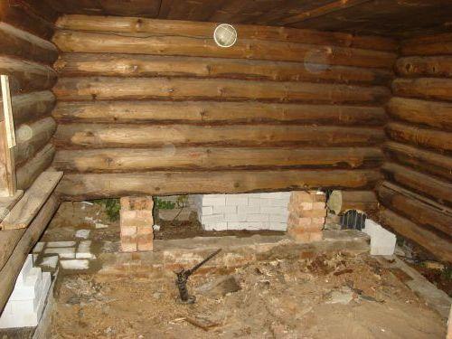 Сделать деревянную баню своими руками 322
