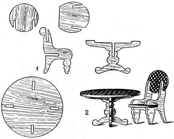 Все детали конструкции должны быть вначале изображены на бумаге.