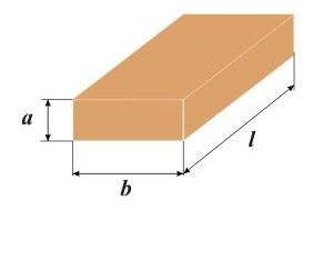 Все параметры обозначаются определенными буквами, которые указаны на рисунке, это общепризнанный вариант