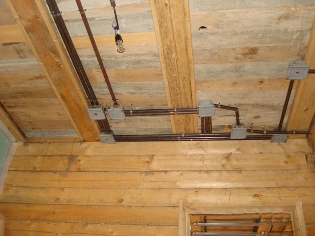 Закладка кабеля в перекрытие