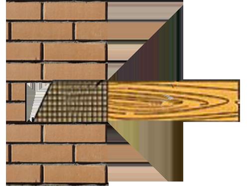 Закладка профиля в стену